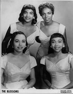 The Blossoms in 1957